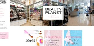 Beauty Planet - Sito Web Word Press